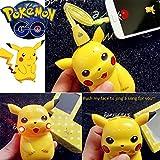 Pokemon Go Pikachu Phone Charger pokeball power bank - external 10000mah led usb portable battery