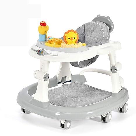 Andadores Caminador para bebés, antivuelco Multifunción ...