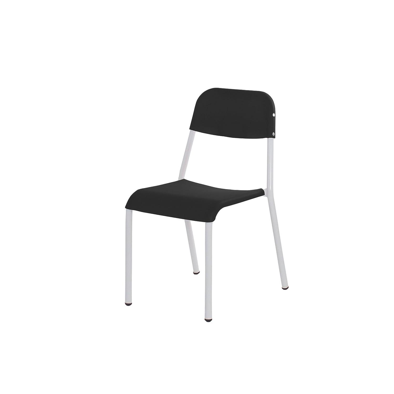 Mobeduc Kinder Plus Stuhl, Holz, schwarz, Größe 5, 81 x 40 x 43 cm