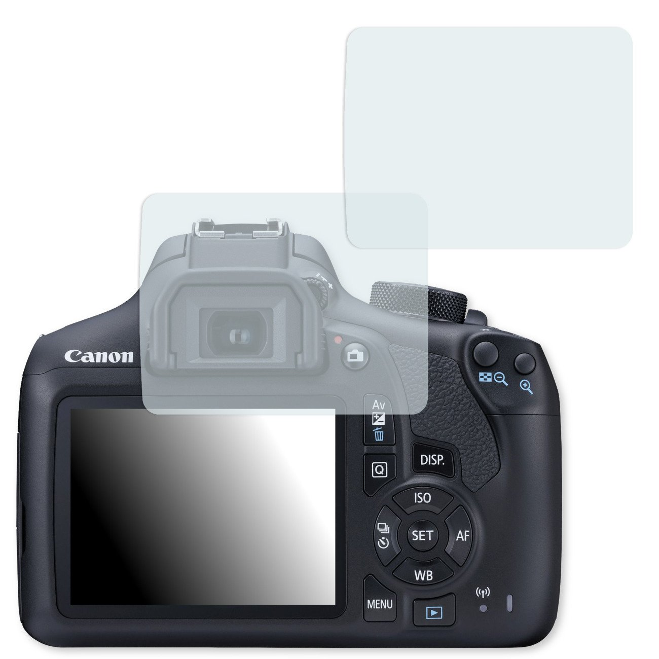 GOLEBO 2X Anti-Glare Screen Protector for Canon EOS 1300D III (Anti-Reflex, Air Pocket Free Application, Easy to Remove)
