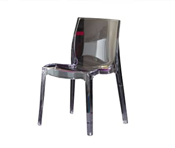Nani Chaise Design Art 047 Falena Polycarbonate Transparent Fume