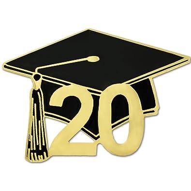 Graduation Hat 2020.Pinmart Class Of 2020 Graduation Cap School Teacher Enamel Lapel Pin