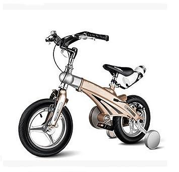 MASLEID escalables los niños en su propia bicicleta de montaña plegable , 14 inch