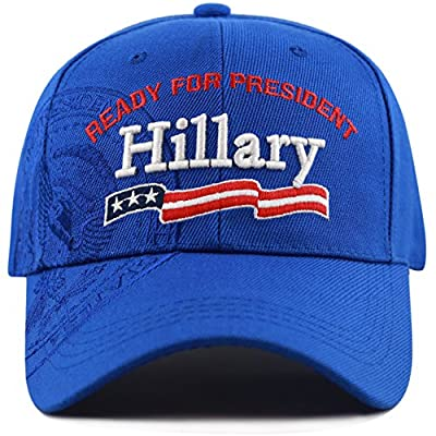 "The Hat Depot Exclusive 3D Hillary ""Ready For President"" President Seal Cap"