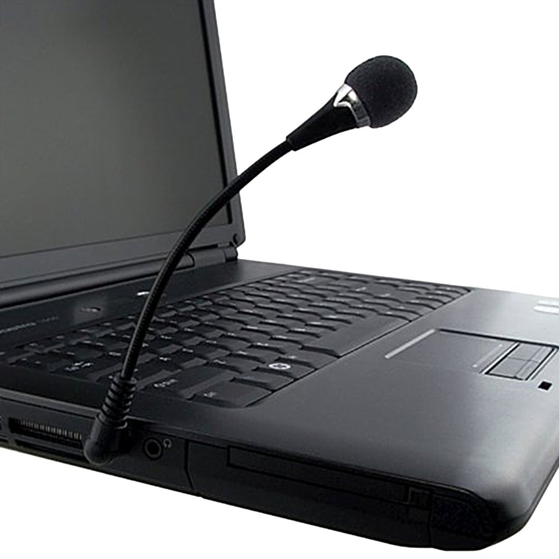 Mini Flexible Microphone 3.5mm Compatible with PC Laptop Skype