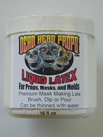 halloween prop building 16oz professional liquid latex for masks props and molds