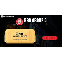 Testbook.com RRB Group D Crash Course (Email Delivery in 2 Hours - No CD)