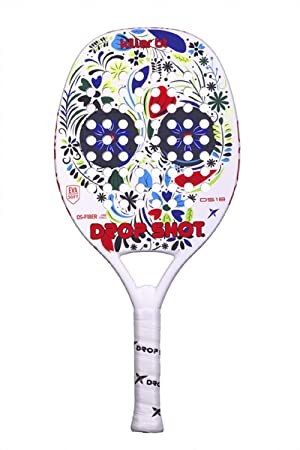 DROP SHOT Killer BT Pala Pádel, Unisex niños, Blanco, S: Amazon.es ...