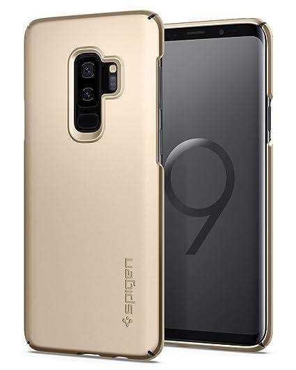low priced 65599 3a104 Amazon.com: Spigen Thin Fit Designed for Samsung Galaxy S9 Plus Case ...