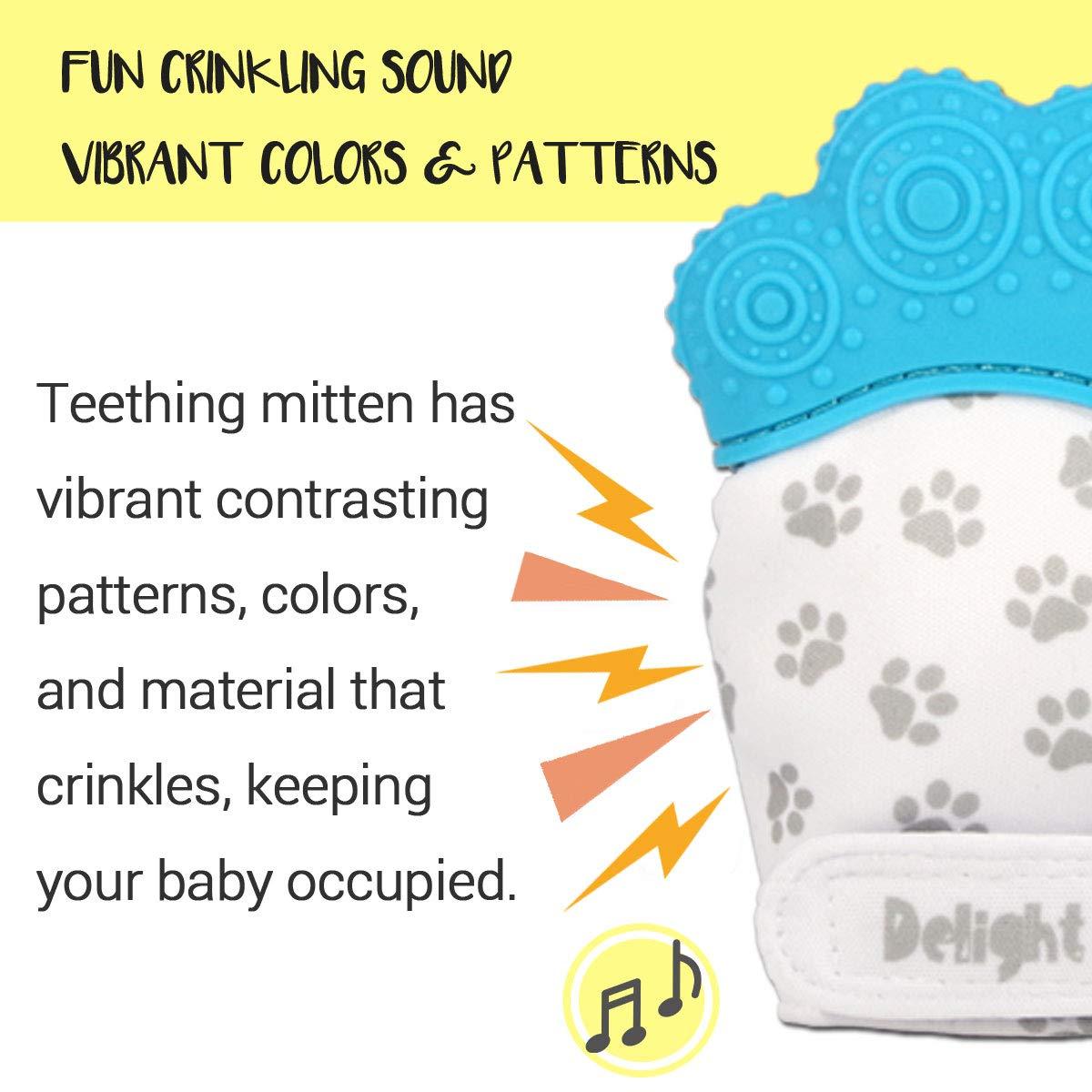 Amazon.com: Delight Paw - Manopla de dentición para bebé ...