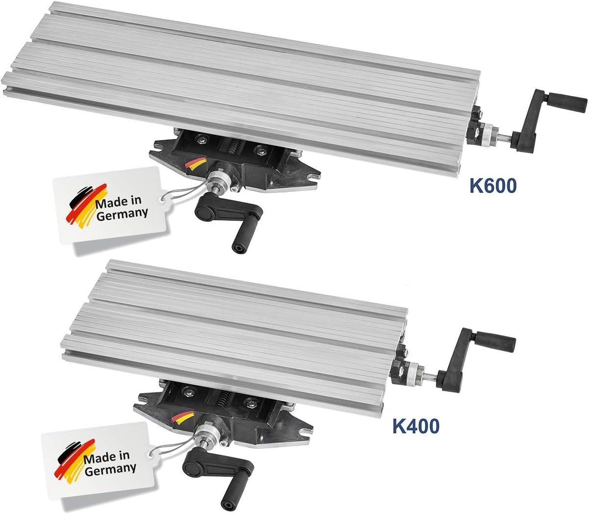 WABECO – de 2 ejes de coordenadas mesa K600 600 x 180 mm Cruz mesa ...