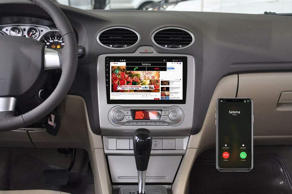 with Rear Camera -10.1 inch 64G Support DAB+ // Steering Wheel Control // 4G // WiFi//Bluetooth//Mirrorlink//Carplay//USB//Android Auto//Bluetooth GPS 2 Din YUNTX PX6 Android 10 Autoradio Radio 4G