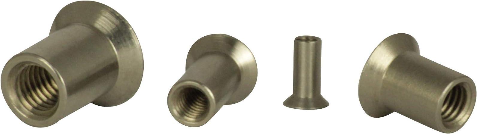 """Douille SW 10 mm tête cylindrique Hexagonal 1//2/"""" Douille Hex écrou"""