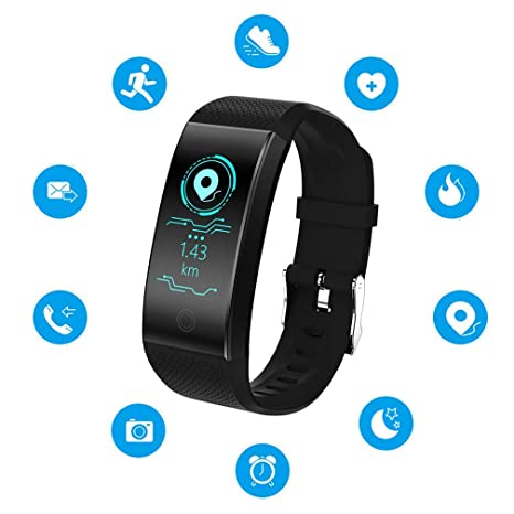 Amazon.com: EJOLG IP67 Waterproof Fitness Trackers Smart ...