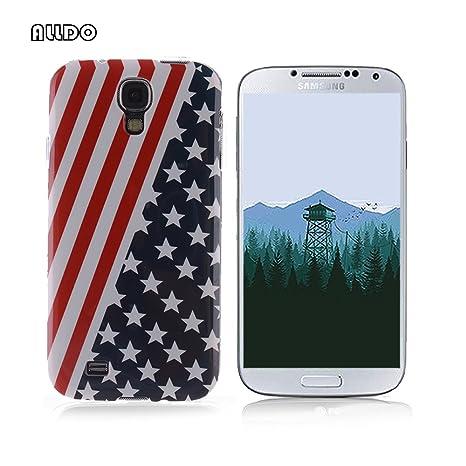 AllDo Funda Silicona para Samsung Galaxy S4 i9500 Carcasa Protectora Caso Suave TPU Soft Silicone Case Cover Bumper Funda Ultra Delgado Carcasa ...