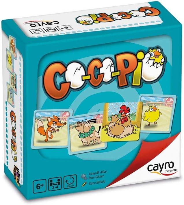 Cayro - Co Co PIO - Juego de observación y Estrategia- Juego de Mesa - Desarrollo de Habilidades cognitivas e inteligencias múltiples - Juego de Mesa (7010)