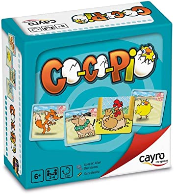 Cayro - Co Co PIO - Juego de observación y Estrategia- Juego de Mesa - Desarrollo de Habilidades cognitivas e inteligencias múltiples - Juego de Mesa (7010): Amazon.es: Juguetes y juegos