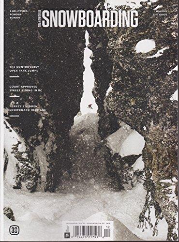 Transworld Snowboarding Magazine December 2016