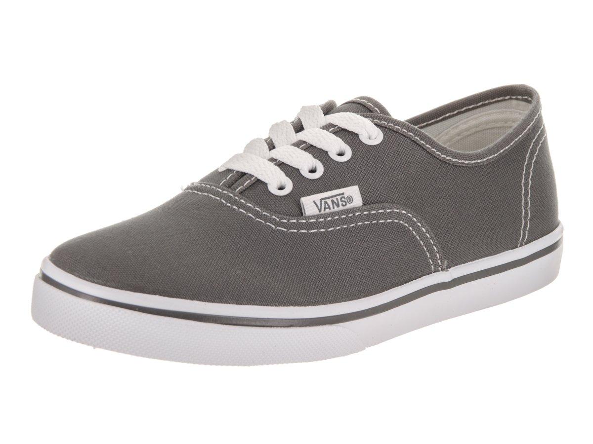 Vans Kids Authentic Lo Pro Casual Shoe Pewter Kids Size 12.5