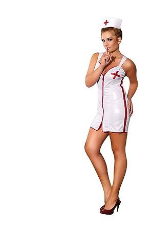 Sexy Sensual Nurse Plus Size Fancy Dress Costume 3xl 6xl Bnib 4 5xl
