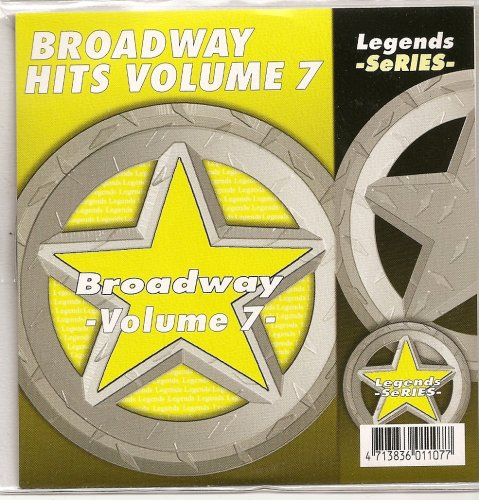 LEGENDS Karaoke CDG BROADWAY SHOWSONGS Vol.7 Show Tunes cd