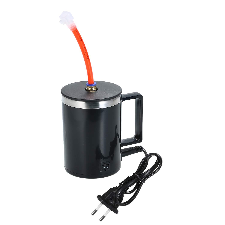 Tazza di Atomizzazione Riscaldante Kit di Lucidatura dei Fari Tazza di Riscaldamento Elettrico con Ugello Antigoccia KKmoon Strumento di Riparazione Smalto Faro Auto Spina UE