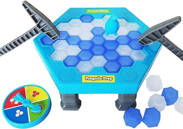 Uteruik Save - Juego de puzle de pingüino con Bloque de Hielo, Juguetes de Pared, Juego de