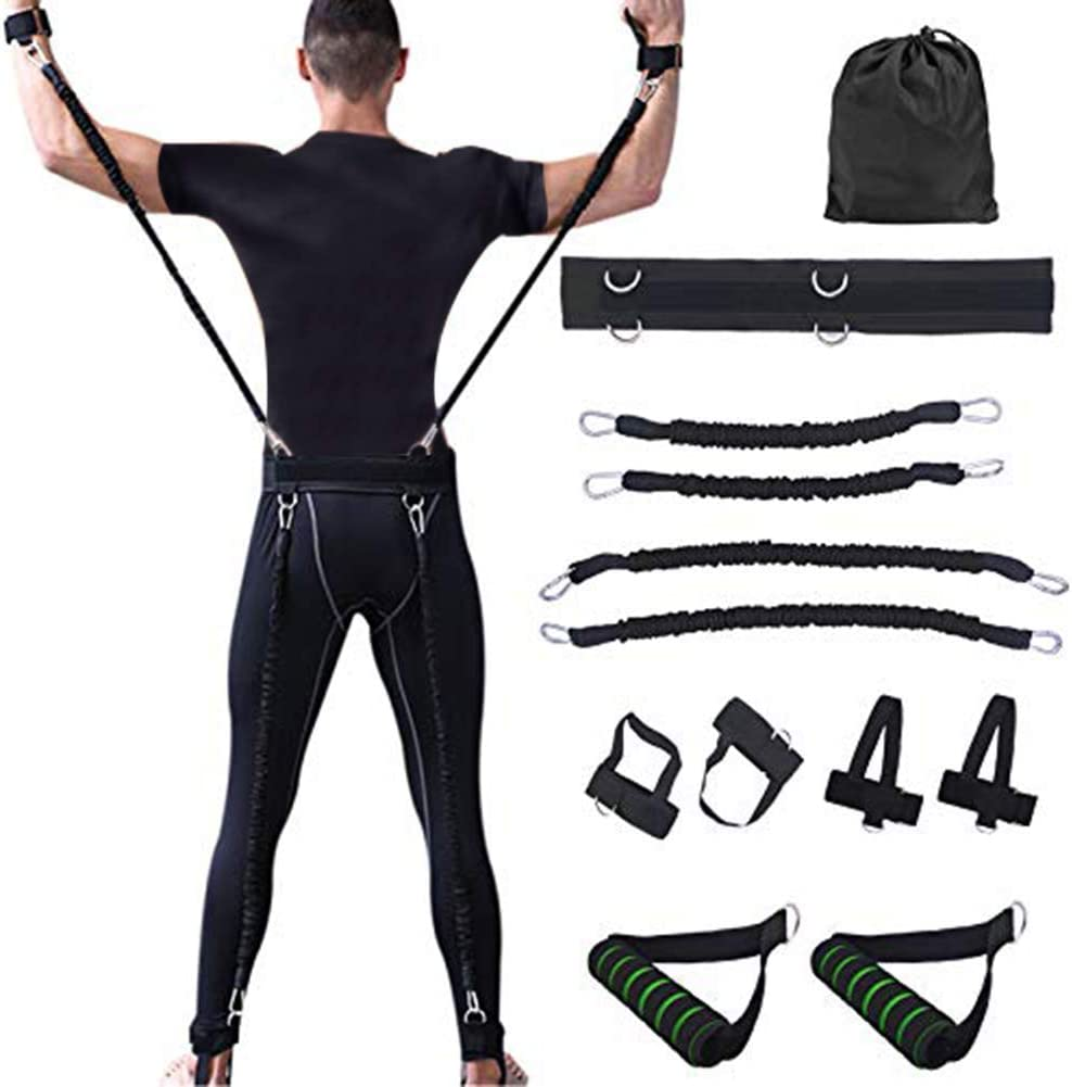 Basic Training Suit Sports Fitness Resistance Bands Bouncing Boxing Set
