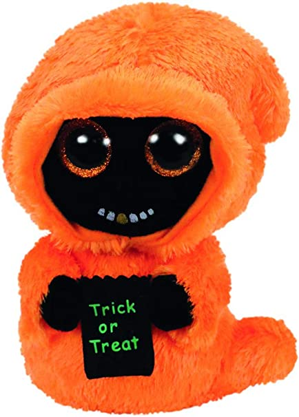 f55ef2d2561 Amazon.com  Ty Beanie Boos Grinner - Ghoul  Toys   Games
