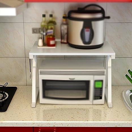 Racks de cocina de 2 pisos/estantes para microondas/parrilla ...