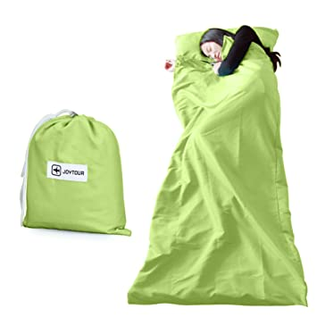 un sucio saco de dormir aislante/Viaje saco de dormir verde portátil/ viajar ligeros sacos de dormir-A: Amazon.es: Deportes y aire libre