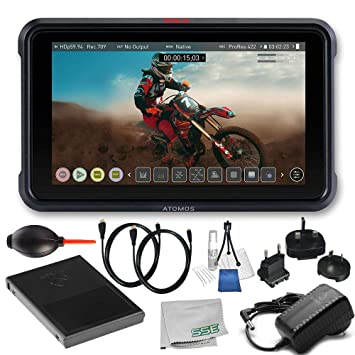 Amazon.com: Atomos Ninja V 4Kp60 10 bits HDR luz de día ...