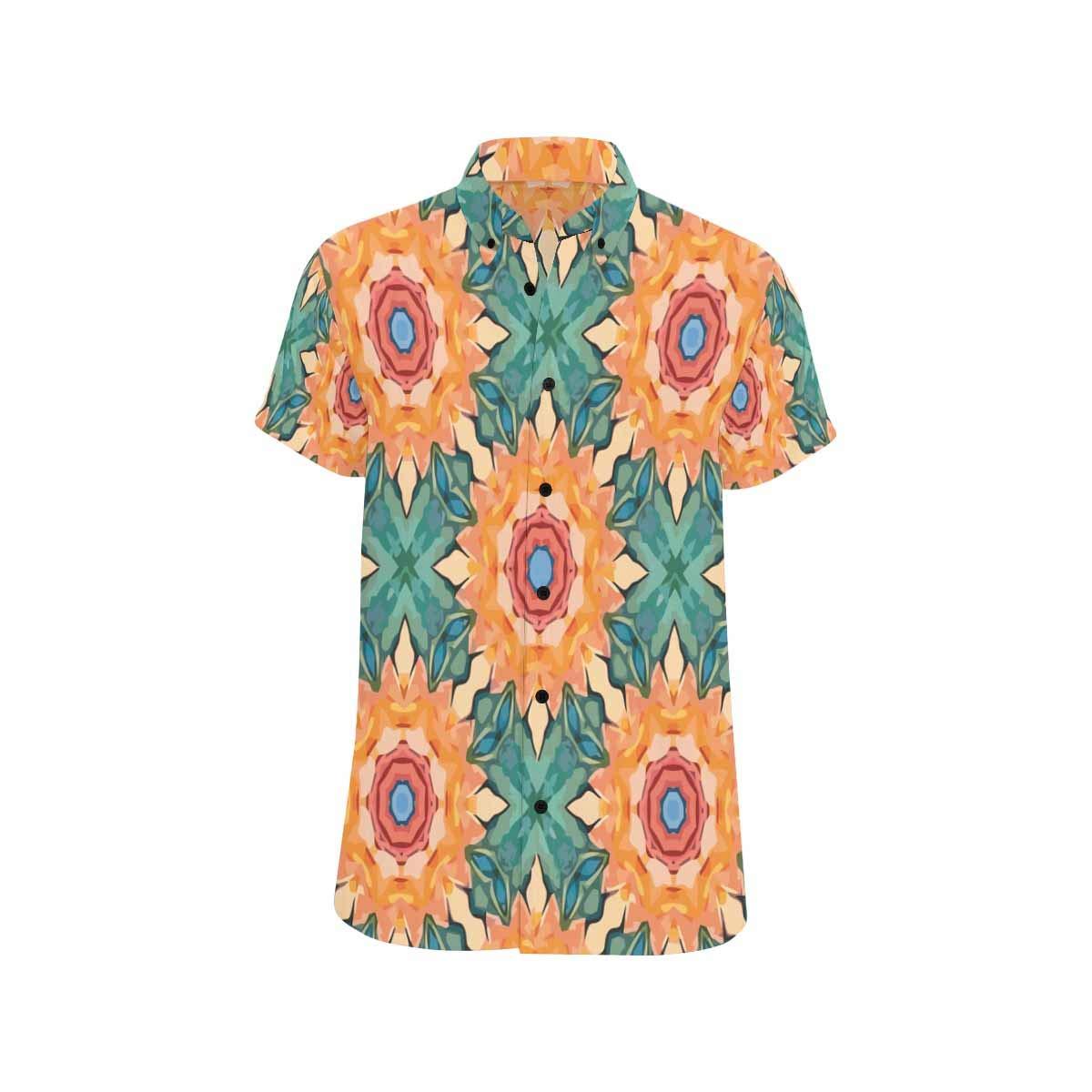 InterestPrint Men Shirt Beach Flip Flops Andsea Stars Shirts Beach Short Sleeve Summer Button Down Tops Tees Blouses S-5XL