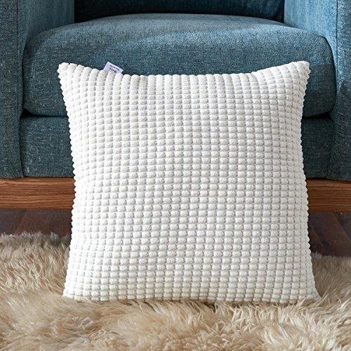 Smiry Stripped Corduroy Cushion Decorative