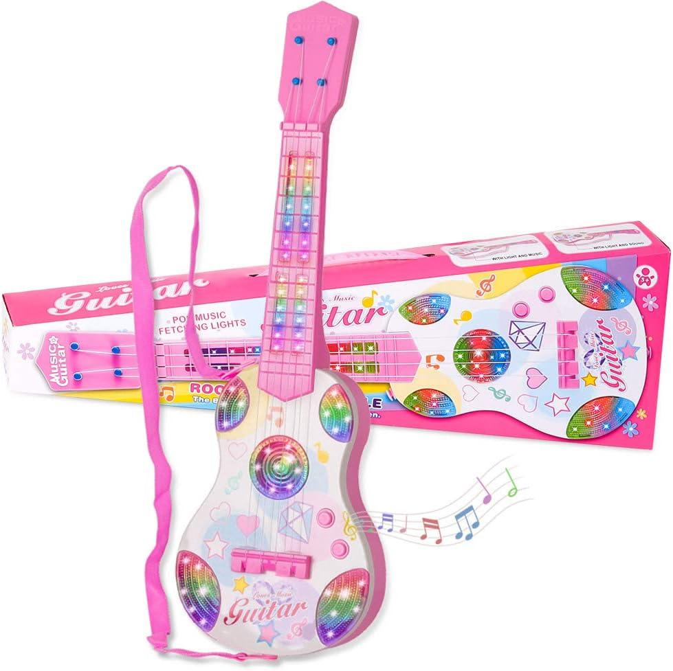 Shayson Guitarra Juguete para Niños,4 Cuerdas Guitarra clásica ...
