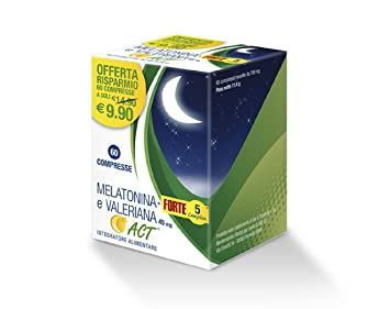 Amazon.com: F & F Melatonin ACT + Forte 5 And Valerian Complex Food ...
