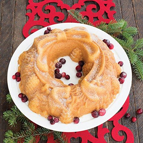Nordic Ware Platinum Holiday Wreath Bundt Pan by Nordic Ware (Image #2)