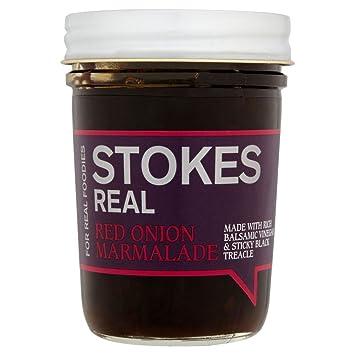 Stokes Salsas Cebolla Roja Mermelada (265g) (Paquete de 6): Amazon.es: Hogar