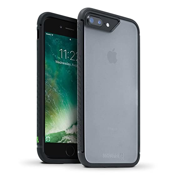 newest collection 96108 26aa6 BodyGuardz - Contact Case Compatible with iPhone 7 Plus / 8 Plus, Co-Mold  Case with Impact Absorbing Technology for Apple iPhone 7 Plus / 8 Plus ...