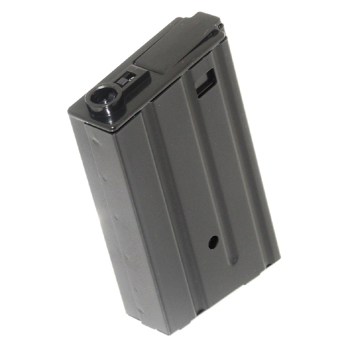 Airsoft vue Gear 120rd Mag en m?tal Magazine M4?M16vn Mag pour M4?M16?AEG Noir Airsoft Shopping Mall