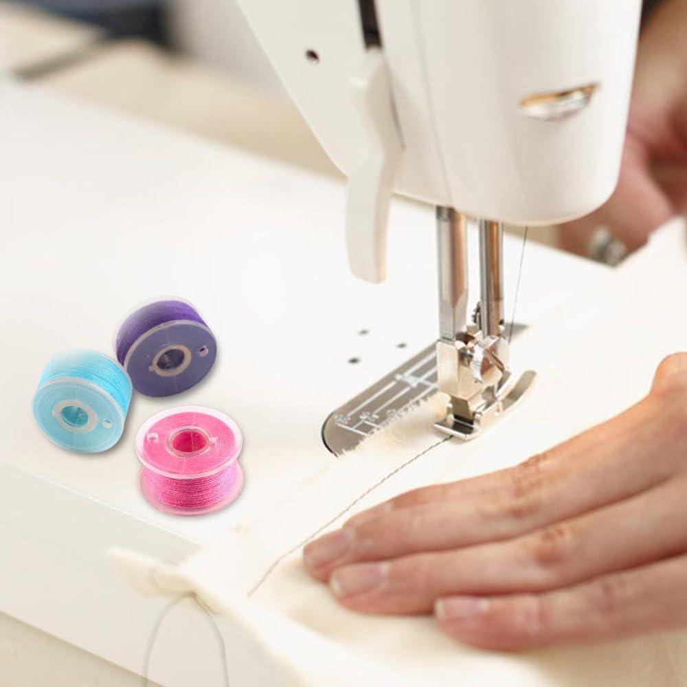 36 piezas de hilo de bobina de la máquina de coser con caja de ...