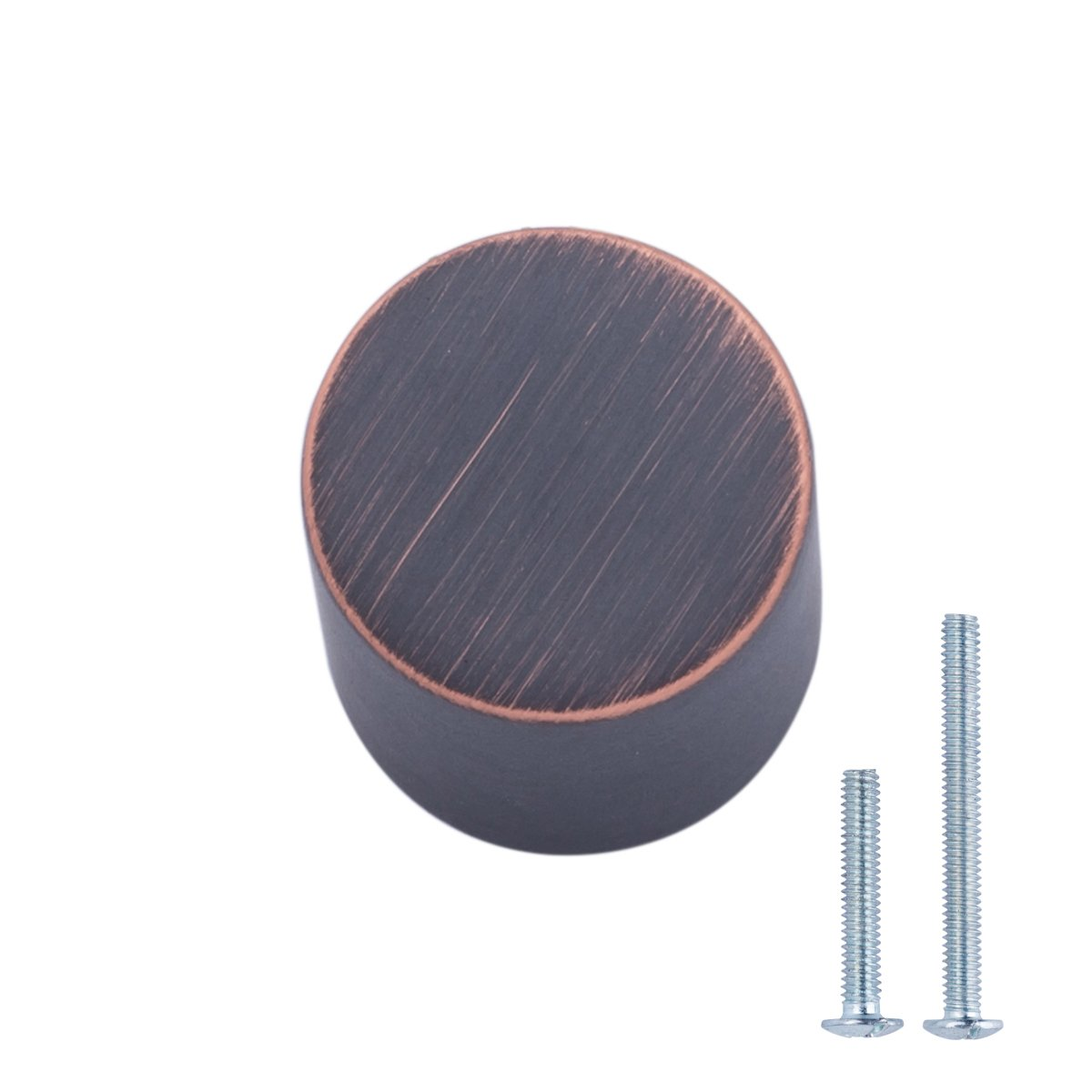 AmazonBasics Whistle Cabinet Knob, 0.75'' Diameter, Oil Rubbed Bronze, 25-Pack by AmazonBasics (Image #1)
