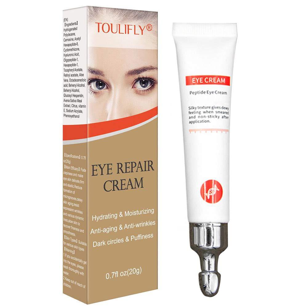 Anti Aging Eye Cream,Under Eye Cream,Eye Firming cream,Eye Repair Cream Anti Wrinkle Eye Bags Fine Lines Puffiness Sagginess Eye Tightening Cream