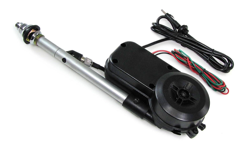 Carparts-Online 30061 Automatische elektrische Antenne ausfahrbar PKW 12v universal chrom