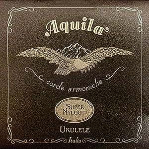 Aquila Super Nylgut AQ-103 Concert Ukulele Strings - High G - Set of 4 Strings