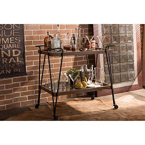 Baxton Studio Alera Rustic Industrial Style Antique