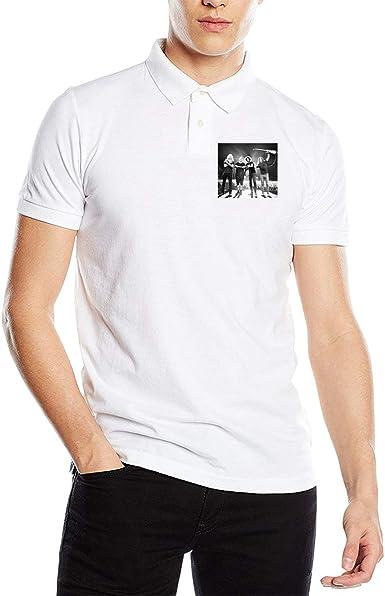 Cjlrqone Free Heart Men Leisure Polo Shirts M Black