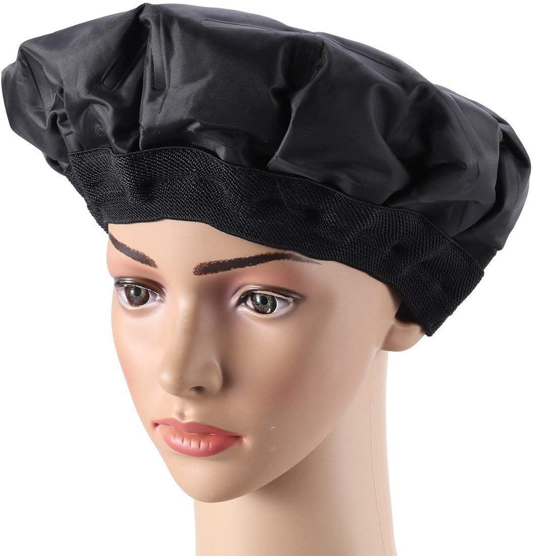 Sookg - Gorra térmica duradera para el cabello con microondas ...