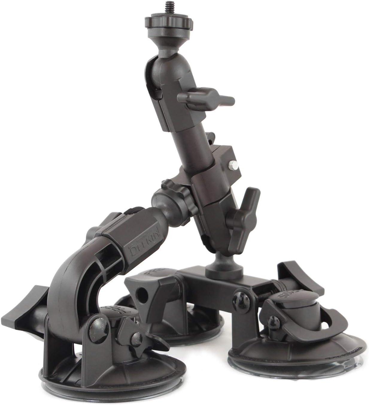 デルキン Fat Gecko 3点支持マウント 吸盤式カメラマウント DDFG-TRIPLE