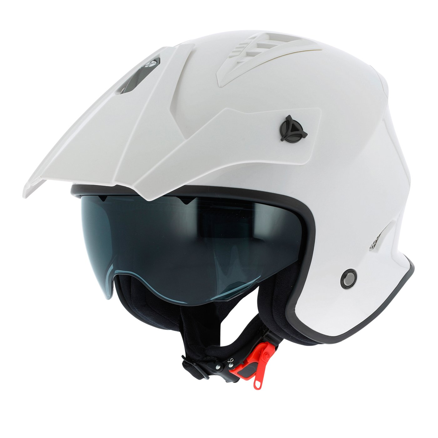 casque de ville compact Casque de moto look cross Astone Helmets Casque de moto MINI CROSS monocolor Casque jet au look enduro matt black